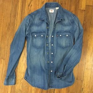 The perfect jean shirt